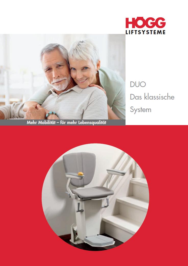 Sitzlift Duo / Treppenlift Duo
