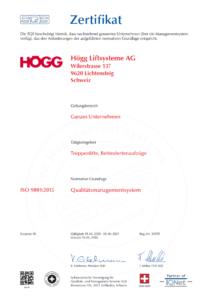 ISO 9001:2008 Qualitaetsmanagementsystem